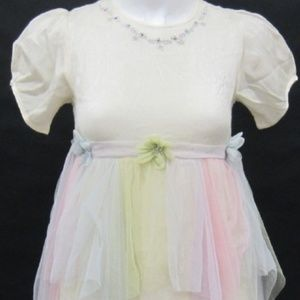 Cornelloki April Cornell Rainbow Girls Dress